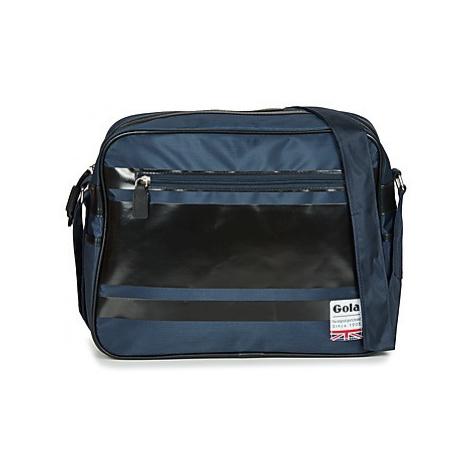 Gola REDFORD GLOSS STRIPE men's Messenger bag in Blue