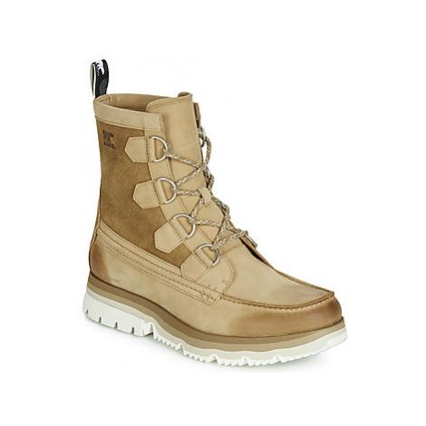 Sorel ATLIS CARIBOU WATERPROOF men's Mid Boots in Brown