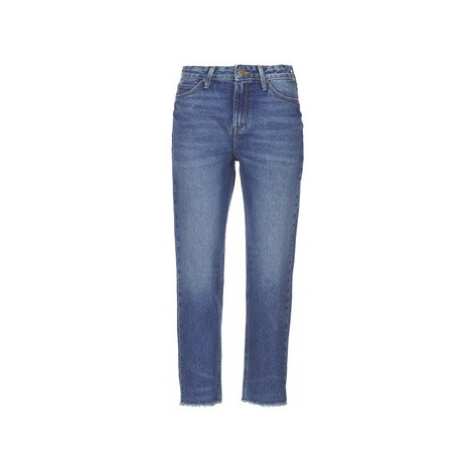Lee MOM STRAIGHT women's Jeans in Blue