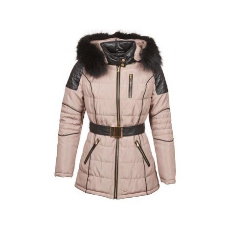 Pink women's winter jackets