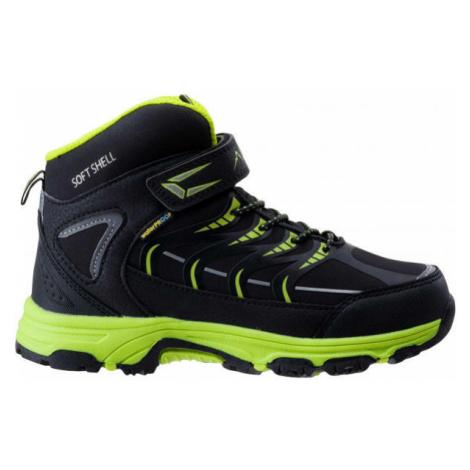 Elbrus HIKO MID WP JR black - Children's trekking boots