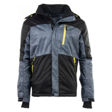 ALPINE PRO PERIDOT 3 black - Men's ski jacket