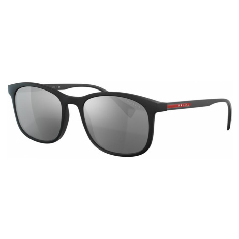 Prada Linea Rossa Man PS 01TS - Frame color: Black, Lens color: Silver, Size 56-19/140