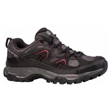 Salomon FORTALEZA GTX W black - Women's hiking shoes