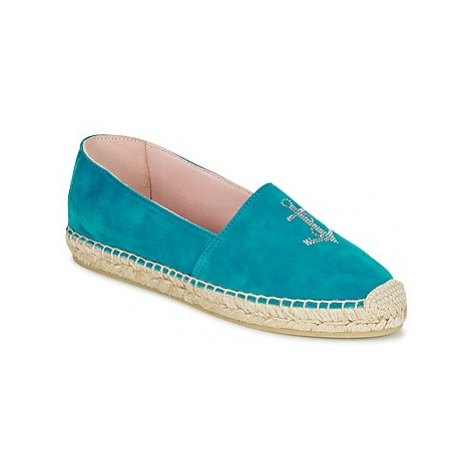 Pretty Ballerinas ANGELIS women's Espadrilles / Casual Shoes in Blue