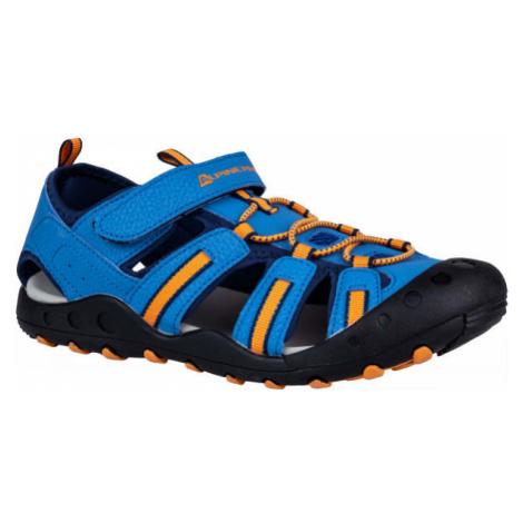 ALPINE PRO OLIVIO blue - Children's summer shoes