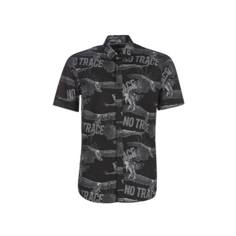 Only Sons ONSSANDER men's Short sleeved Shirt in Black Only & Sons