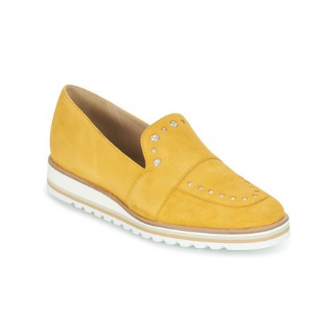 France Mode HERMES SM women's Loafers / Casual Shoes in Yellow