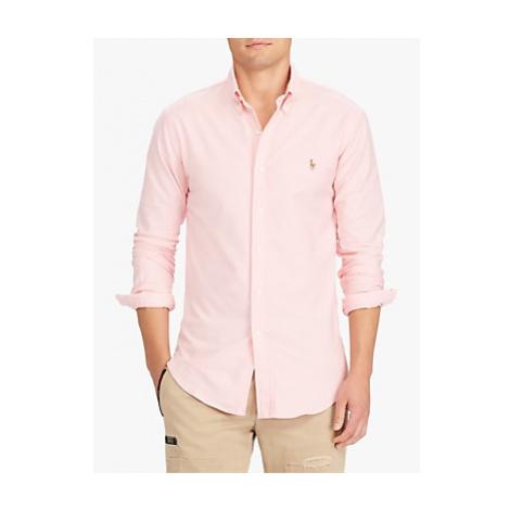 Polo Ralph Lauren Regular Cotton Poplin Shirt, Pink