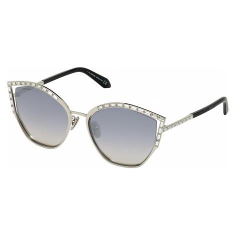 Fluid Sunglasses, SK0274-P-H 16C, Grey Swarovski