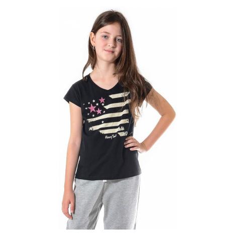 T-Shirt Heavy Tools Kirua - Black