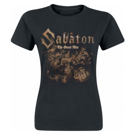 Sabaton - The Great War - Soldiers - Girls shirt - black