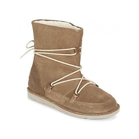 Les Tropéziennes par M Belarbi CANDY women's Mid Boots in Brown