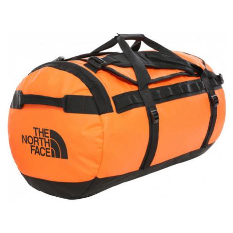 The North Face BASE CAMP DUFFEL orange - Sports bag
