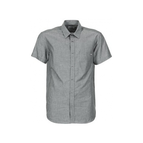 Casual Attitude ERENE men's Short sleeved Shirt in Grey