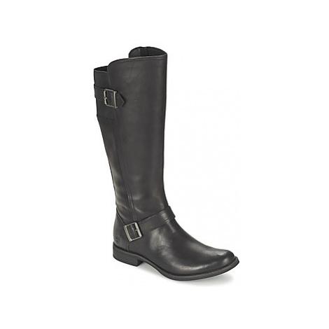 Timberland SAVIN HILL BUCKLE GORE TALL women's High Boots in Black