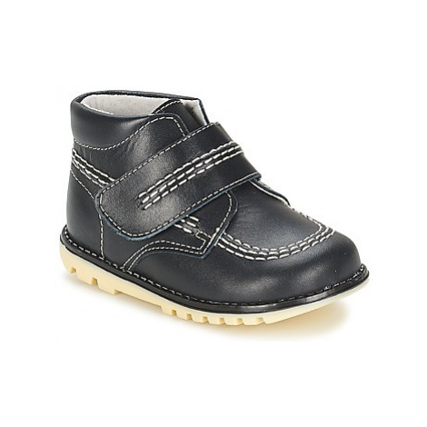 Citrouille et Compagnie MELIN boys's Children's Mid Boots in Blue
