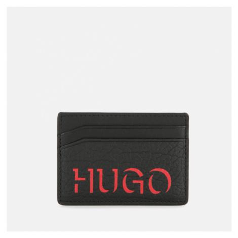 HUGO Men's Victorian 3 Card Holder - Black/Red Hugo Boss