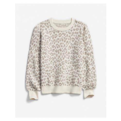 GAP Kids Sweater White Grey