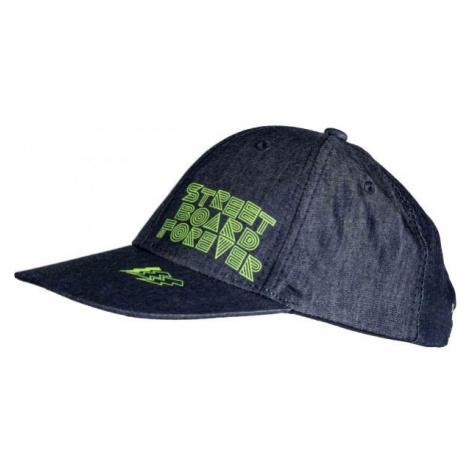 Lewro REMO dark blue - Boys' baseball cap with a straight bill