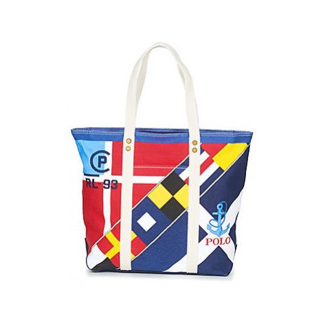 Polo Ralph Lauren PP TOTE women's Shopper bag in Multicolour