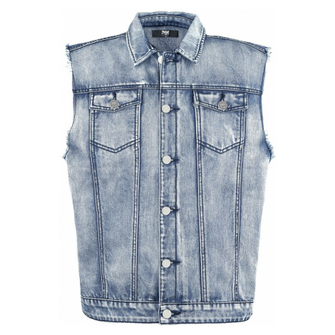 Black Premium by EMP Life Of An Easy Rider Vest blue