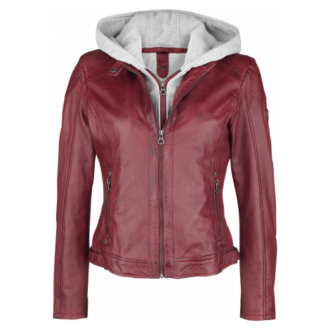 Gipsy - Angy S18 LAMAS - Girls leather jacket - red