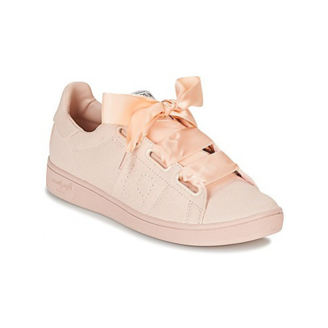 Pepe jeans BROMPTON SQUARE women's Shoes (Trainers) in Pink