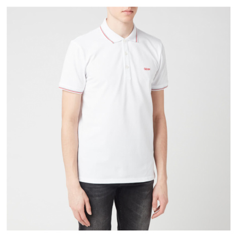 HUGO Men's Dinoso202 Polo Shirt - White Hugo Boss