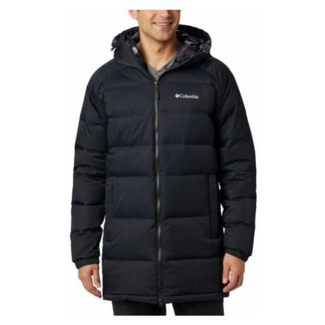 Columbia MACLEAY DOWN LONG JACKET black - Men's winter jacket