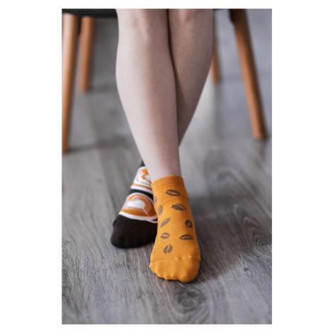 Barefoot Socks - Low-Cut - Coffee 43-46