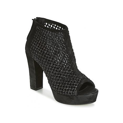 Now RAFFIA women's Sandals in Black