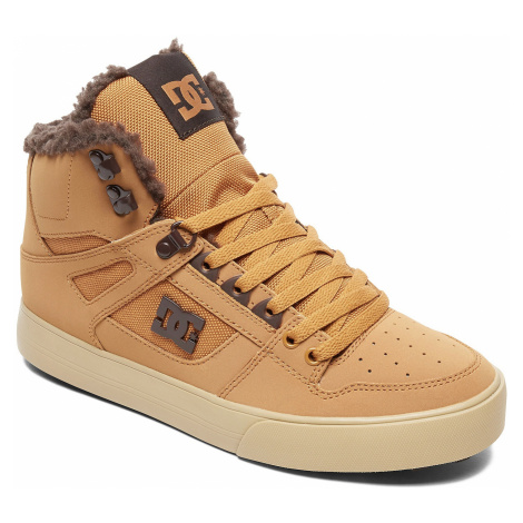 shoes DC Pure High -Top WC WNT - BCT/Brown/Chocolate - men´s