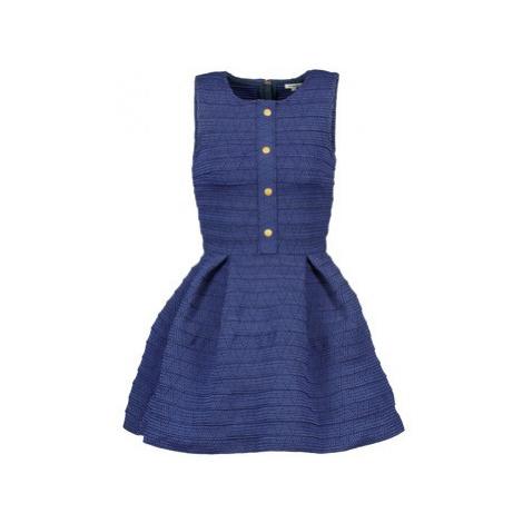 Manoush ELASTIC women's Dress in Blue