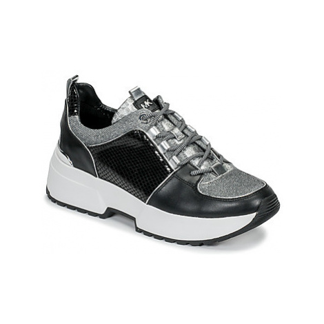 MICHAEL Michael Kors COSMO TRAINER women's Shoes (Trainers) in Black