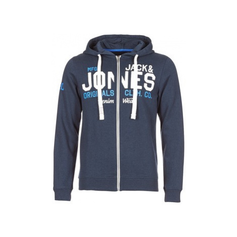 Jack Jones JORGRIN men's Sweatshirt in Blue Jack & Jones