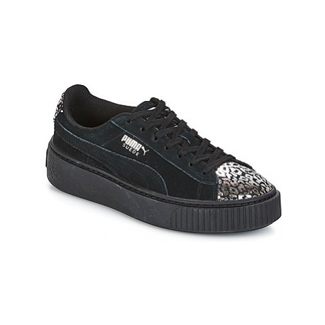 Puma G JR S PLATFORM ATHLUXE.BL girls's Children's Shoes (Trainers) in Black