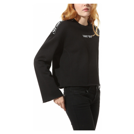 sweatshirt Vans Brand Striper Crew - Black - women´s