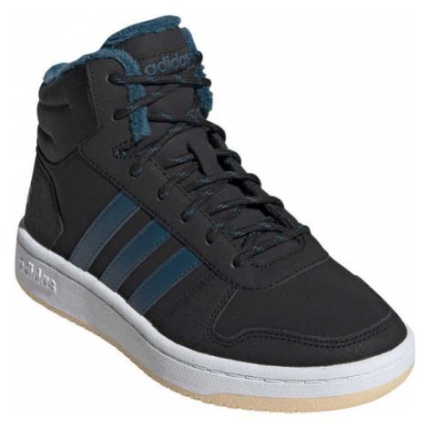 adidas HOOPS MID 2.0 K dark blue - Kids' winter shoes