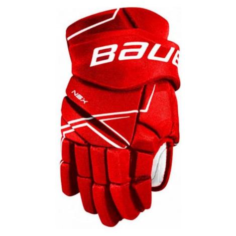 Bauer NSX GLOVES SR red - Hockey gloves