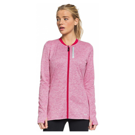 sweatshirt Roxy Heartbreaker Hotel Fleece Zip - MQT0/Cerise - women´s