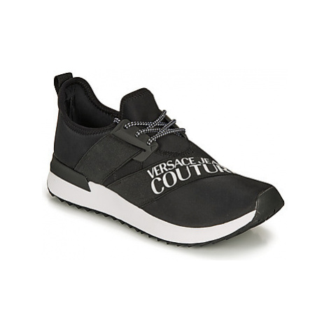 Versace Jeans Couture EOYUBSG1 men's Shoes (Trainers) in Black
