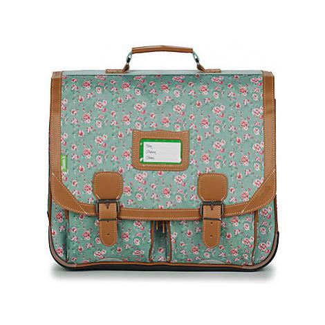 Blue girls' school bags