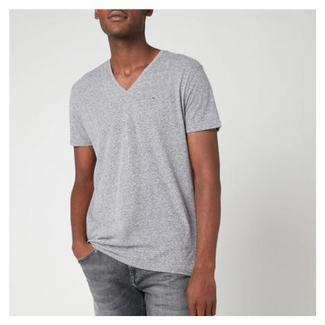 Tommy Jeans Men's Original Triblend V-Neck T-Shirt - Black Iris Tommy Hilfiger
