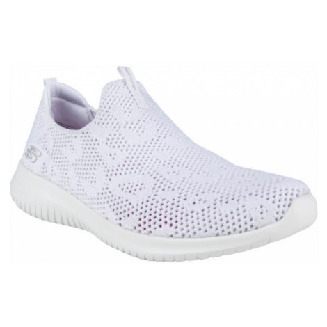 Skechers ULTRA FLEX FAST TALKER white - Women's slip-on shoes