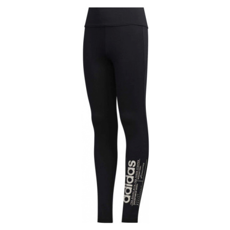 adidas YG BB TIGHT black - Girls' leggings