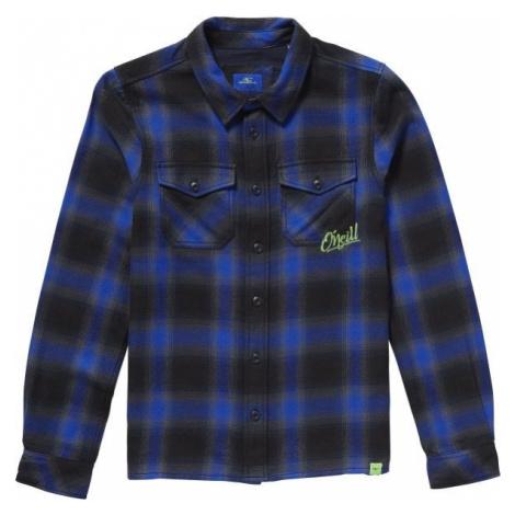 O'Neill LB VIOLATOR FLANNEL SHIRT dark blue - Children's shirt