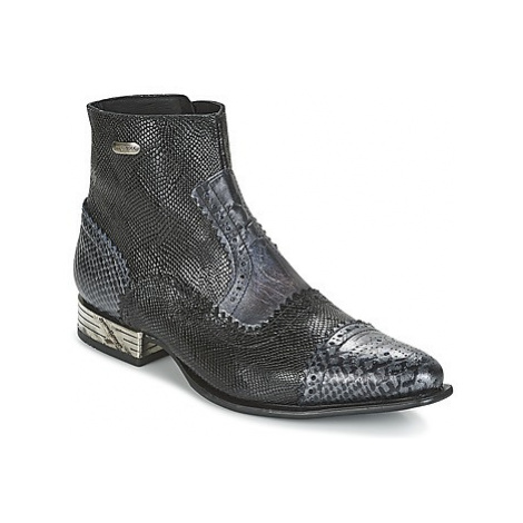 New Rock HACHA women's Mid Boots in Black