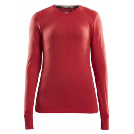 Craft FUSEKNIT COMFORT RN LS W red - Women's functional T-shirt