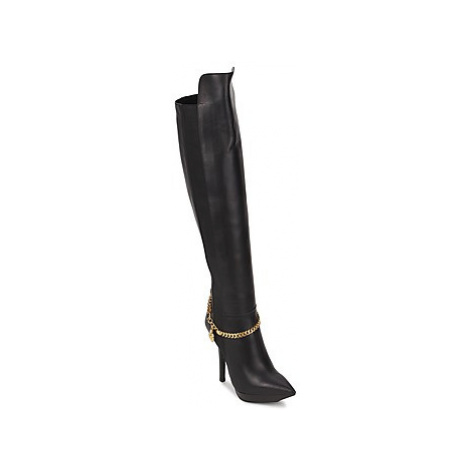 Versace DSL814R women's High Boots in Black